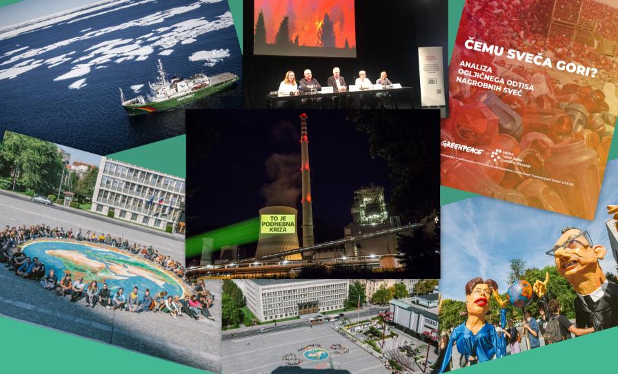Greenpeaceov kolaž 2019
