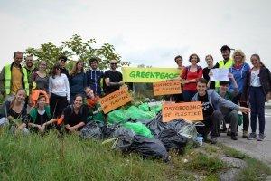 Čiščenje v Sloveniji, Greenpeace, 2018.